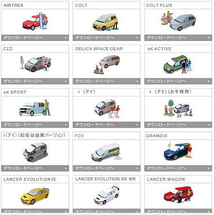 Mitsubishi-Modelle