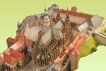 Prager Burg Ausschnitt