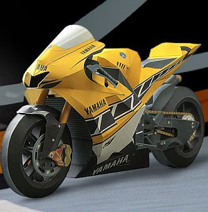 Yamaha Paper Craft
