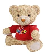 Teddybaer als Bastelbogen zum Download