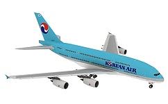 Airbus A380 Papiermodell