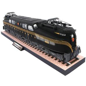 Lokomotive Papiermodell