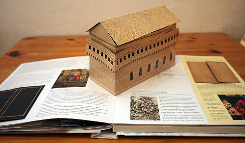 "Sixtinische Kapelle im ""Renaissance Art Pop-up Book"""