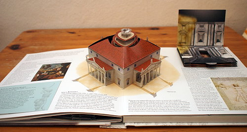 "Villa Rotonda im ""Renaissance Art Pop-up Book"""
