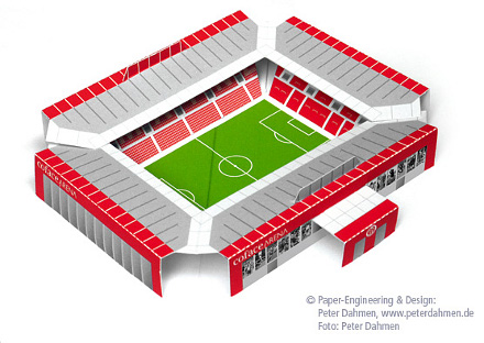 Pop-Up Stadion Mainz 05
