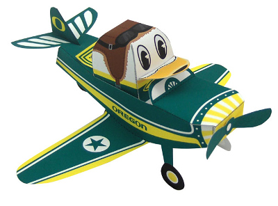 duck_in_plane_university_of_oregon