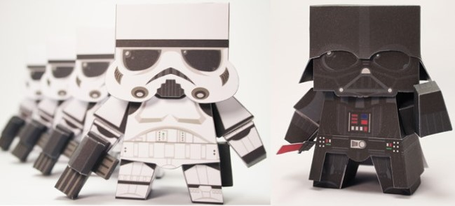 Star-wars-papertoys
